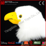 ASTMのリアルなぬいぐるみの白頭鷲の柔らかい鳥のプラシ天のおもちゃ