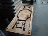 Оптовая таблица козелка переклейки с алюминиевым краем для случая/венчания