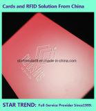 De Kaart van de gift met de Magnetische Matte Laminering van de Kleurendruk van de Strook Volledige