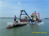 Water Flow 500m3/H를 가진 휴대용 Cutter Suction Dredger