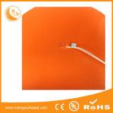 Подгонять гибкий подогреватель силиконовой резины для цены