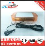 Амбер 12V/24V магнитное 24W линейное СИД миниое Lightbar для автомобиля