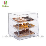 Gute Qualitätsstilvoller 2 Reihe-quadratischer Kuchen-acrylsauerstandplatz