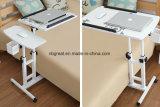 ベッドまたはソファのためのベッドのラップトップの机表上の調節可能な圧延
