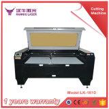Fábrica automática de Guangzhou de la cortadora del laser que introduce