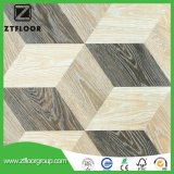 azulejo de suelo del laminado de madera 3D fácil instalar con impermeable