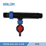 """1 """" inyector para la irrigación por goteo"""