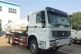 Carro de la alcantarilla del vacío de la succión de las aguas residuales de Sinotruk 6X4 HOWO 18000L