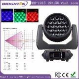 Mini-DMX RGBW 19*15W LED Wäsche-Träger-bewegliche Stadiums-Lichter