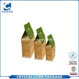 Seitliche Stützblech-wasserdichte Nahrungsmittelpapierbeutel