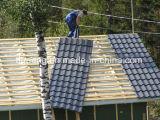 Placa de acero acanalada/trapezoidal/esmaltada de la alta calidad de PPGI/PPGL de material para techos