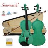 Скрипка Beginner переклейки стартера цвета Sinomusik поставщика сертификата BV/SGS