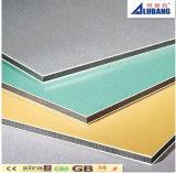 фасада сандвича панели 3mm панель напольного алюминиевого внешняя алюминиевая составная