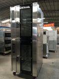 Horno eléctrico de la convección del microordenador del aire caliente con Proofer para el asunto (WFC-5DH7F)