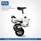 12 bici eléctrica de la ciudad del doblez de la pulgada 48V 250W (THHA-40OEM)