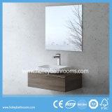 反対の洗面器(BF127N)が付いているヨーロッパ式MDFの普及した現代浴室セット