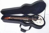 BV/SGS Bescheinigungs-Lieferant---Aiersi Wohnzimmer-Typ Messingkarosserien-Resonator-Gitarre mit Aufnahme