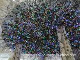 Décoration de vacances d'étalage de lumière de réseau de Noël de DEL