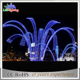 CE/RoHS blaues LED feenhaftes Weihnachtenim freienDocoration Brunnen-Lichter