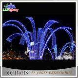 Indicatori luminosi esterni della fontana di Docoration LED di natale leggiadramente blu di CE/RoHS