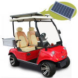 Тележка гольфа с передним отсеком тележки хранения & солнечным Panel2 Seater