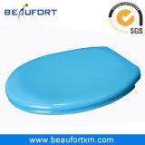 Himmel-Blau-Verlangsamung-Badezimmer uF-Toiletten-Sitzdeckel