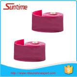 Première bande faite sur commande de vente de soie de forme physique de taille, bande de soie de mobilité, bandes de soie pour le compactage de muscle
