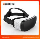 Rectángulo androide de Vr de los vidrios 3D del teatro casero en en doble canal