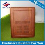 Trofeo di legno della piastra di Soild della parete inciso abitudine