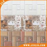 Mattonelle di ceramica della parete del mattone impermeabile Polished della stanza da bagno del materiale da costruzione 250mmx400mm
