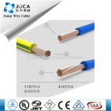 PVC Insulated Electric Cable de H07V-U 2.5mm2 Copper Conductor