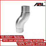 Acero inoxidable 90 Degree Elbow Baranda CC58