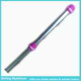 Pipa competitiva Rod telescópico del aluminio/de aluminio de la protuberancia del perfil