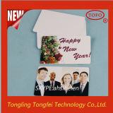Tarjeta imprimible de la identificación del PVC del chorro de tinta plástico estupendo caliente de los repartos