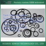 Giunto circolare modellato personalizzato fabbrica della gomma di silicone con colla