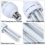 Freies des Deckel-360degree IP33 LED Mais-Licht Mais-der Lampen-E27 SMD2835 9W LED