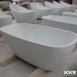 백색 아크릴 단단한 지상 위생 상품 독립 구조로 서있는 목욕