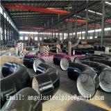Instalaciones de tuberías de acero de carbón del horario 40 ASTM A234 Wpb de la fuente