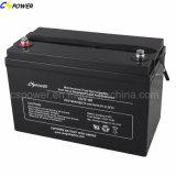 Batterie profonde 12V100ah, batterie d'UPS, batterie solaire Cg12-100 de cycle de gel