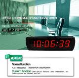 [Ganxin] de LEIDENE 3inch 6digital Chronometer van de Vertoning met de Vertoning van de Tijd