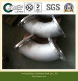Tubulação soldada cotovelo dos encaixes do aço inoxidável 316