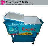 Portable carro del refrigerador del acero inoxidable del patio del balanceo de 80 cuartos de galón