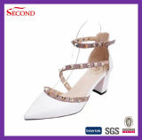 Novos estilos Rivet Women Shoes