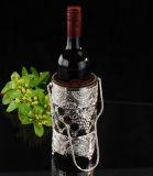 De zilver Geplateerde Houder van de Wijn (wy17090a-2)