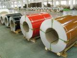 De Vervaardiging van de Rol van Shandong PPGI/Kleur het Met een laag bedekte Staal/Kleur bedekte de Gegalvaniseerde Rol van de Rol PPGI van het Staal met een laag