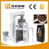 Máquina de empacotamento automática do feijão de café