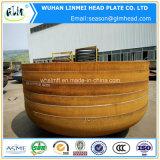 圧力タンクのための皿に盛られた楕円ヘッド