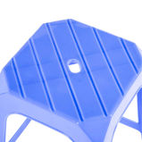 Durable Stackable Plastic High Square Stool para uso diario
