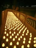 Bulbo directo de la hora solar de la fábrica LED C37 E27/E14/de la vela de Warmwhite para 3With5W7with9W