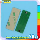 Tag adesivo do metal da freqüência ultraelevada RFID do estrangeiro 9662 do ISO 18000-C